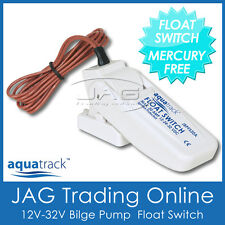 12V~32V AQUATRACK AUTOMATIC BILGE PUMP FLOAT SWITCH - Boat/Marine/Submersible