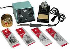 Weller WES51 Analog Soldering Station W/ Chisel/Screwdriver Tip Bundle & 599B-02