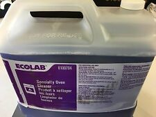 Ecolab 6100704 Heavy Duty Industrial Specialty Oven Cleaner 2.5 Gallons