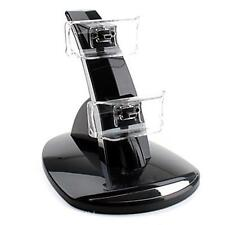 1x Hot Dual USB Ports Charging Charger Stand Dock Kit for PS3 Gamepad Controller