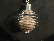 A Neat and 100% Natural MOQUI MARBLE made into a Pendant! from Utah 2.61 e