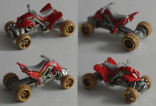 Hot Wheels-sand stinger quad rojo