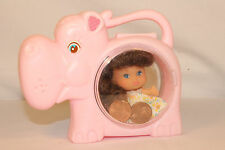 HIPPOPOTAMUS (HIPPO) PIGGY BANK, With Doll Inside