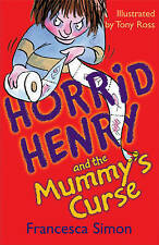 Horrid Henry and the Mummy's Curse, Francesca Simon, Very Good condition, Book