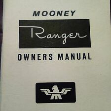 Mooney Ranger M20C Owner's Manual