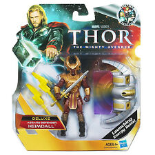 "THOR The Mighty Avenger Collection_HEIMDALL 3.75"" Deluxe action figure_MIP & New"