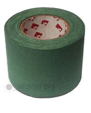 BRITISH ARMY ISSUE SCAPA SNIPER TAPE WEBBING REPAIR GREEN OLIVE 5CM X 10M ROLL