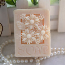 Sunflower S418 Silicone Soap mold Craft Molds DIY Handmade soap mould