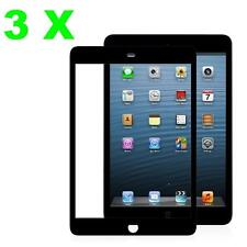 3X Colorful Clear Screen Protector Film Guard Shield for iPad 2 / 3 / 4 + Stylus