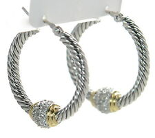John Medeiros Hoop Earrings