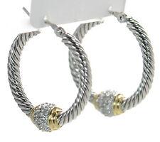 John Medeiros Hoop Earrings