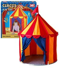Circus Big Top Style Playhouse Wendy House Play Tent - Indoors Or Outdoors TY601