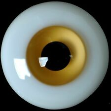 New 14MM Brown Glass BJD Eyes Outfit for MSD DOD DZ AOD Volks Luts BJD Doll