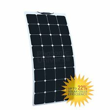 100W flexible solar panel made of back-contact cells with durable ETFE coating