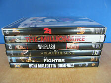 THE FIGHTER WHIPLASH 21 A BEAUTIFUL MIND THE MILLIONAIRE OGNI MALEDETTA DVD