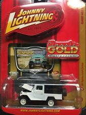 JOHNNY LIGHTNING - CLASSIC GOLD WHITE 1980 TOYOTA LAND CRUISER - SUPER RARE