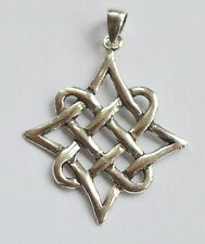 Sterling Silver (925)   Celtic  Star  Pendant  !!        Brand  New  !!
