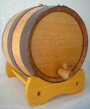 20 Liter American White Oak Barrel Cask Keg mature Rum Tequila Whiskey Beer Wine