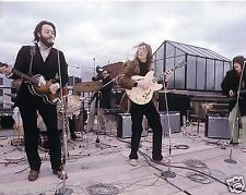 THE BEATLES ROOF TOP CONCERT 1969  8X10 PHOTO #101