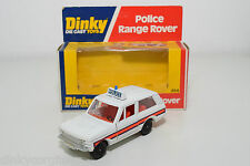 DINKY TOYS 254 RANGE ROVER POLICE VERY NEAR MINT BOXED