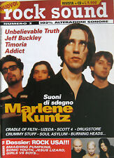 ROCKSOUND 2 1998 Marlene Kuntz Jeff Buckley Sonic Youth Addict Smashing Pumpkins