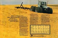 1974 White Motor Corp 4-150 Field Boss 2 Page Farm Tractor Print Ad