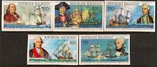 MALAGASY 1975 BICENTENARIES IMPERF SC # 525a-526a C137a-C139a MNH