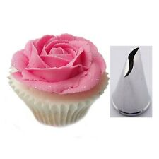 Kitchencraft Rose Petal Icing Nozzle Tip Decorating Cup Cakes Sugarcraft Tools