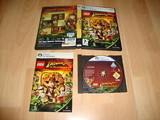 LEGO INDIANA JONES LA TRILOGIA DE LUCASARTS PARA PC USADO COMPLETO