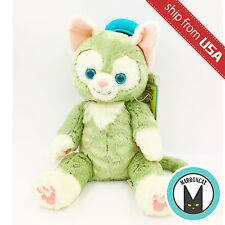 "Japan Tokyo Disney Sea 16"" Gelatoni Cat Plush Doll Duffy Bear Limited Stuffed US"