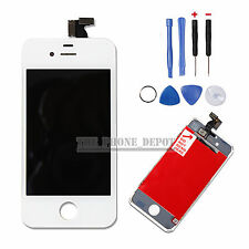 REPLACEMENT FOR IPHONE 4S LCD DISPLAY & TOUCH SCREEN DIGITIZER ASSEMBLY IN WHITE