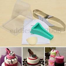 Silicone High Heel Lady Shoe Fondant Mould Cake Wedding Decor Party Mold Kit New
