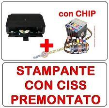 STAMPANTE CANON PIXMA IP7250 CON CISS PREMONTATO - INCHIOSTRO Incl. WIFI DUPLEX