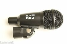 KAM BD2 bass drum, base cab mic - punchier than beta and pg 52