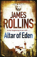 Altar of Eden, By James Rollins,in Used but Acceptable condition