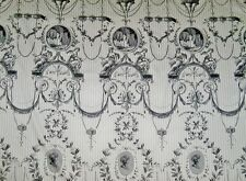 PIERRE FREY ROMANEX DE BOUSSAC FRENCH NEOCLASSICAL TOILE FABRIC 8 YARDS  1B