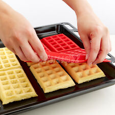 Waffle Mold Waffle Silicone Bakeware Silicone Baking Tools DIY Breakfast