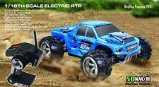 Remoto RC auto Rayline funrace 01c15 - 2,4 GHz - 1:18 - 50 km/h! nuevo!