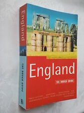 THE ROUGH GUIDE TO ENGLAND.1ST S/B 1998 NEW,MAPS PHOTOS GUIDE