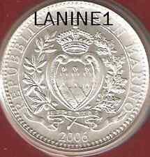 5 EURO ARGENT DU BU SAINT MARIN ANNEE 2006