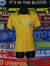 4/5 Brazil (Brasil) adults M 1988 retro rare football shirt jersey Copa America