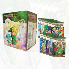 The Legend of Zelda Box Set 1-10 Manga Series and Poster -Manga Akira Himekawa