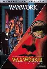 WAXWORK / WAXWORK 2 :LOST IN TIME  -  DVD - REGION 1  sealed