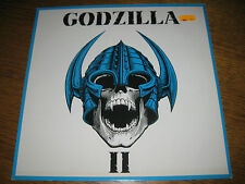 Godzilla- II LP,Metal Enterprises Germany 1990,9 Tracks,sehr rar,Vinyl mint!!!!