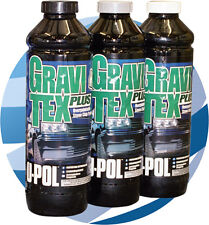 12 U-pol GRAVITEX Stone Chip Protector Black Grey White - 1 litre