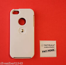TETRAX X Custodia in bianco per iPhone 5 & 5S per l'uso con XWAY / Smart / FIXWAY / GEO NUOVO!