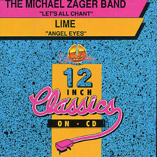 MICHAEL ZAGER /LIME, Lets All Chant/ Angel Eyes, Excellent Single, Import