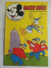 Micky Maus 1971 Nr. 39 mit MMk-Zeitung mit Sammelbild Ehapa Walt Disney KR-P