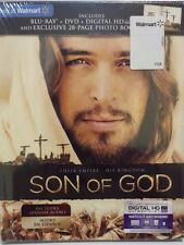Son of God Blue-Ray + DVD + Digital HD Ultravoilet Code + 28 Page Photo Book Set