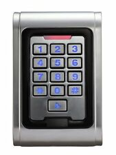 EntryLux IP65 Waterproof Anti-Vandal RFID IP68 Proximity Keypad Sealed (no tags)